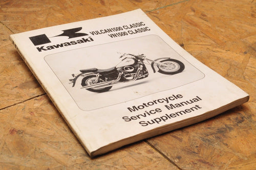 Kawasaki Factory Service Manual VULCAN 1500 CLASSIC SUPPLEMENT 98 99924-1229-51