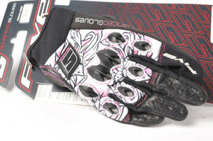 Five Stunt Replica Flower Shorty Women's Motorcycle Gloves XL 11 555-03912