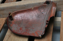 Load image into Gallery viewer, GENUINE HONDA SIDE COVER SET L LH LEFT 83700-413-000 RED-ISH W/LOGO