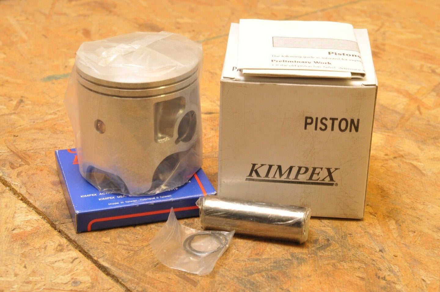 NEW NOS KIMPEX PISTON KIT 09-748 MOTO SKI-DOO 340 TNT OLYMPIQUE FUTURA EVEREST R
