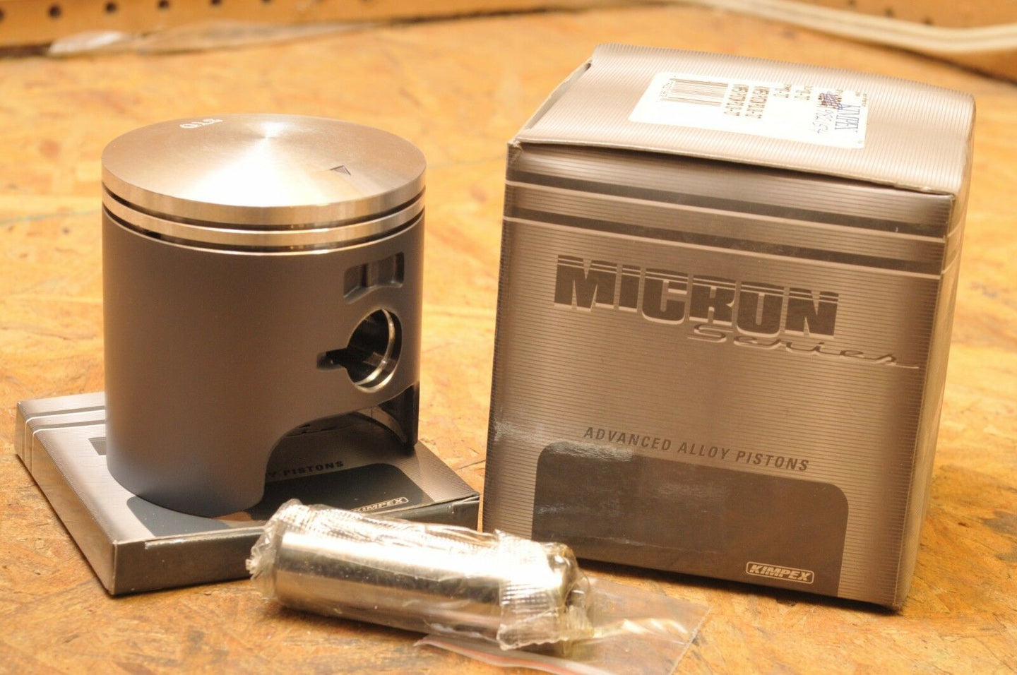 NEW NOS KIMPEX PISTON KIT 09-710-02M POLARIS INDY 440  +0.020 OVER! 1982-1999