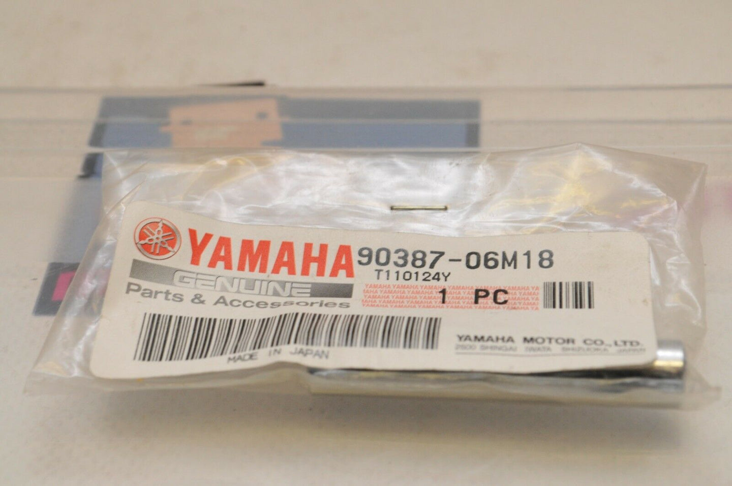 NEW NOS OEM YAMAHA MARINE 90387-06M18 COLLAR, 25HP OUTBOARD 1988-2006++