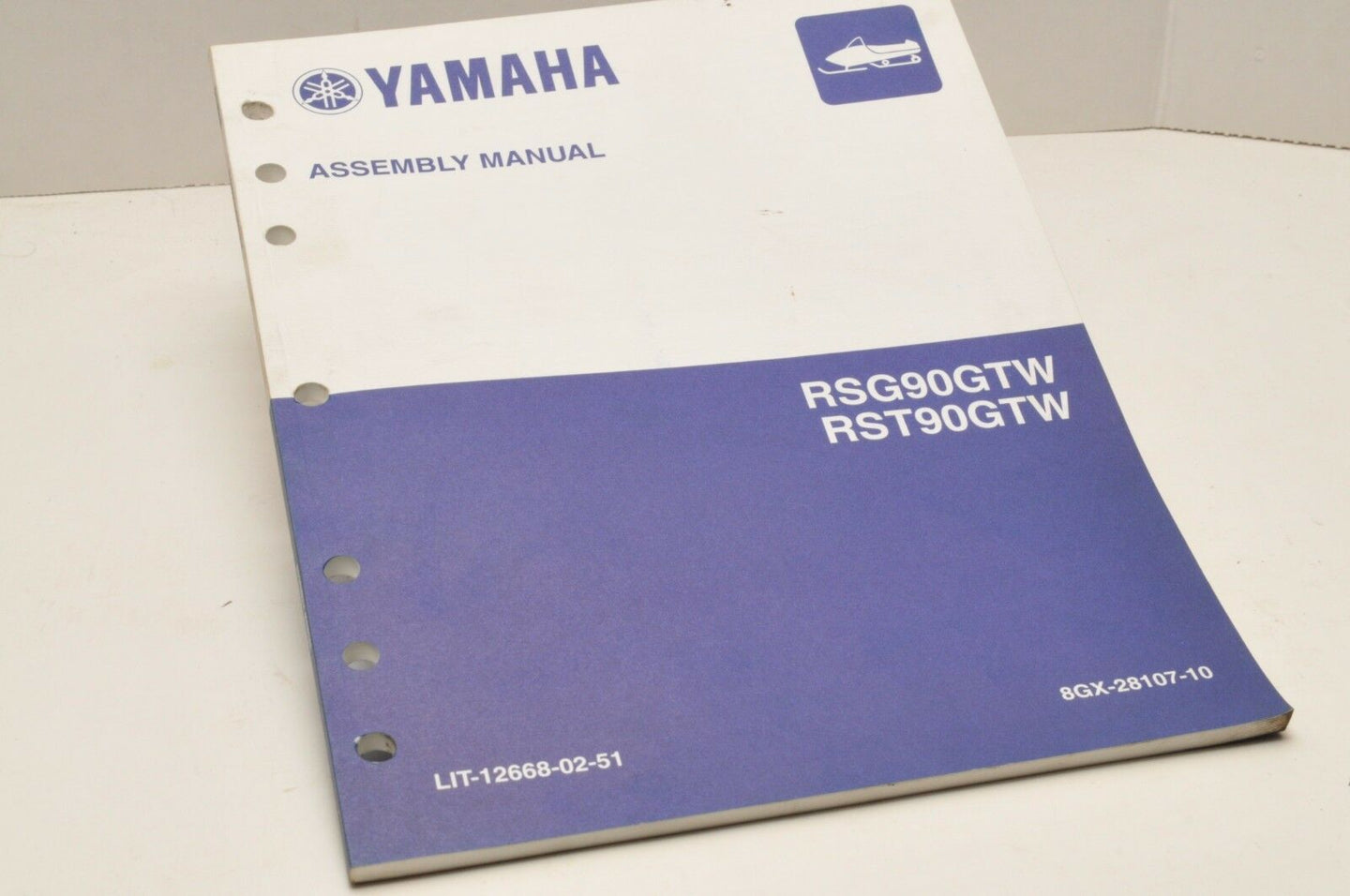 Genuine Yamaha FACTORY ASSEMBLY SETUP MANUAL RAGE GT 2007 LIT-12668-02-51