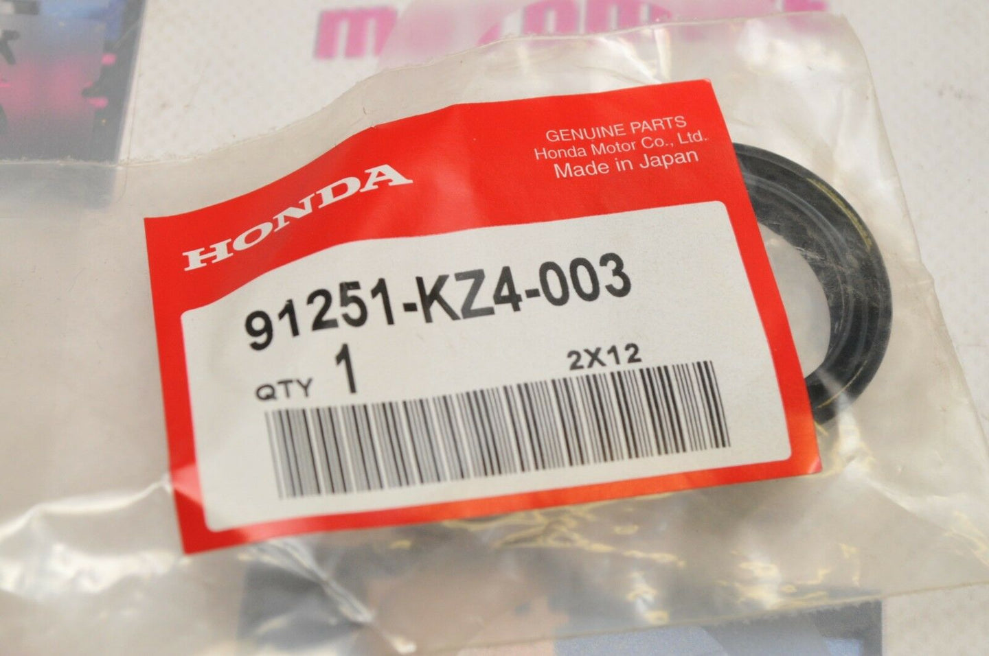 NOS Honda OEM 91251-KZ4-003 DUST SEAL,REAR WHEEL CR250R CR125R CR500R 1989-2001