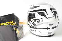 Load image into Gallery viewer, NEW Scorpion EXO-R2000 Motorcycle Helmet White/Black DOT/SNELL XL 200-7636