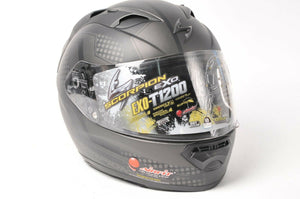 Scorpion EXO-T1200 Motorcycle Helmet Alias Phantom Matte Black XS  6501191