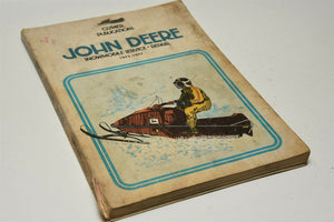 John Deere Snowmobile Service-Repair, 1972-1977 by David Sales Clymer