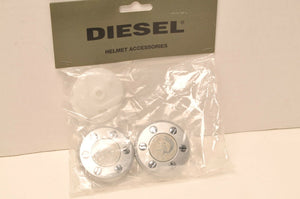 GENUINE AGV Diesel KIT46118 KIT46118-999-001 - Shield Ratchet Mowie Silver
