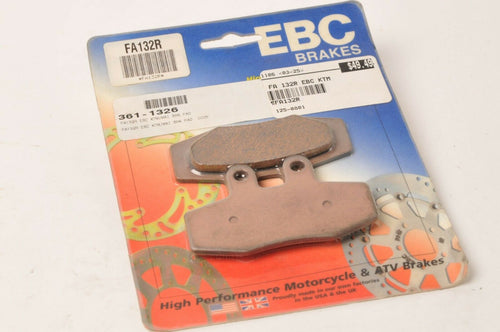 EBC FA132R Long Life Sintered Brake Pads - KTM 125 EXC MX 250 350 500 600 ++