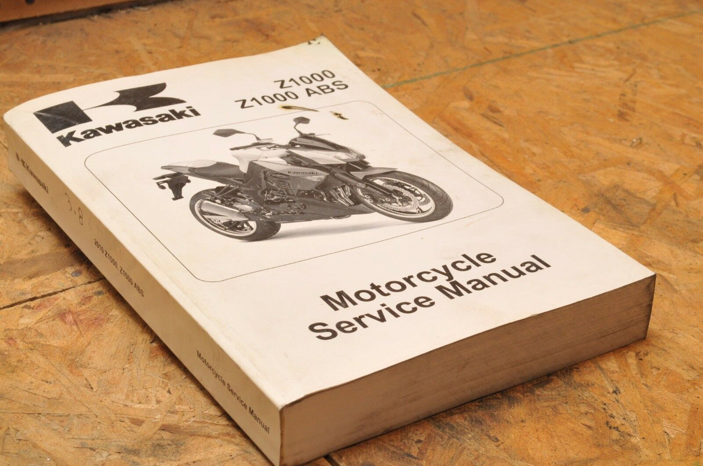 Kawasaki Factory Service Manual OEM SHOP Z1000 ABS 2010 99924-1436-02