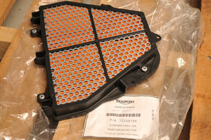 NOS OEM TRIUMPH T2208164 AIR FILTER -  DAYTONA 675 / STREET TRIPLE / R  2006-17
