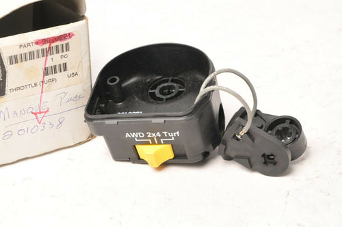 Genuine Polaris 2010338 Switch,Throttle/Diff MISSING THUMB LEVER- ATP Sportsman