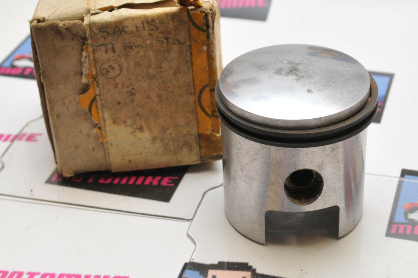 NOS New Old Stock HEPOLITE PISTON 18481 STD SACHS 71mm R 10 70 MF  2.7953