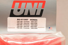 Load image into Gallery viewer, 1990-2000 Honda Trx300 Fourtrax 300 2x4 4x4 Uni Air Filter Made In Usa Nu-4119st