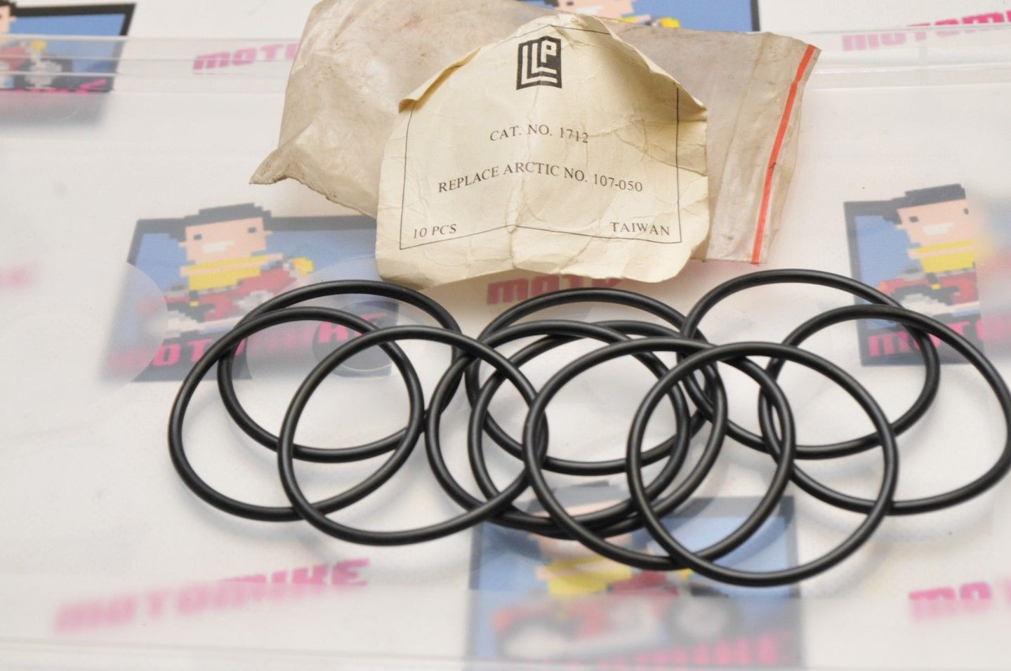 NEW NOS LLP ARCTIC CAT0107-050 Qty:10 LOT - SEAL, O-RING DRIVE TRAIN