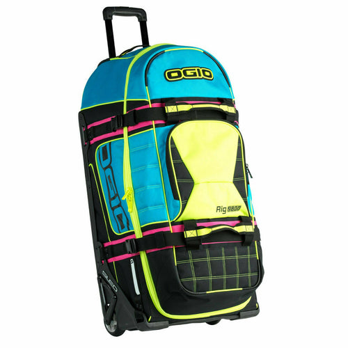 OGIO Rig 9800 Wheeled Gear Bag - Retro Motocross Racing Duffel Travel Hockey