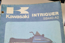 Load image into Gallery viewer, Genuine KAWASAKI SNOWMOBILE SERVICE SHOP MANUAL SB440-A2   99963-3502 1978