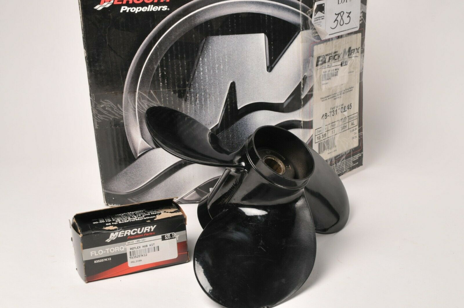OEM Mercury Quicksilver Flo-Torq III Hub Kit For 40-60 HP 4 Stroke CT Bigfoot