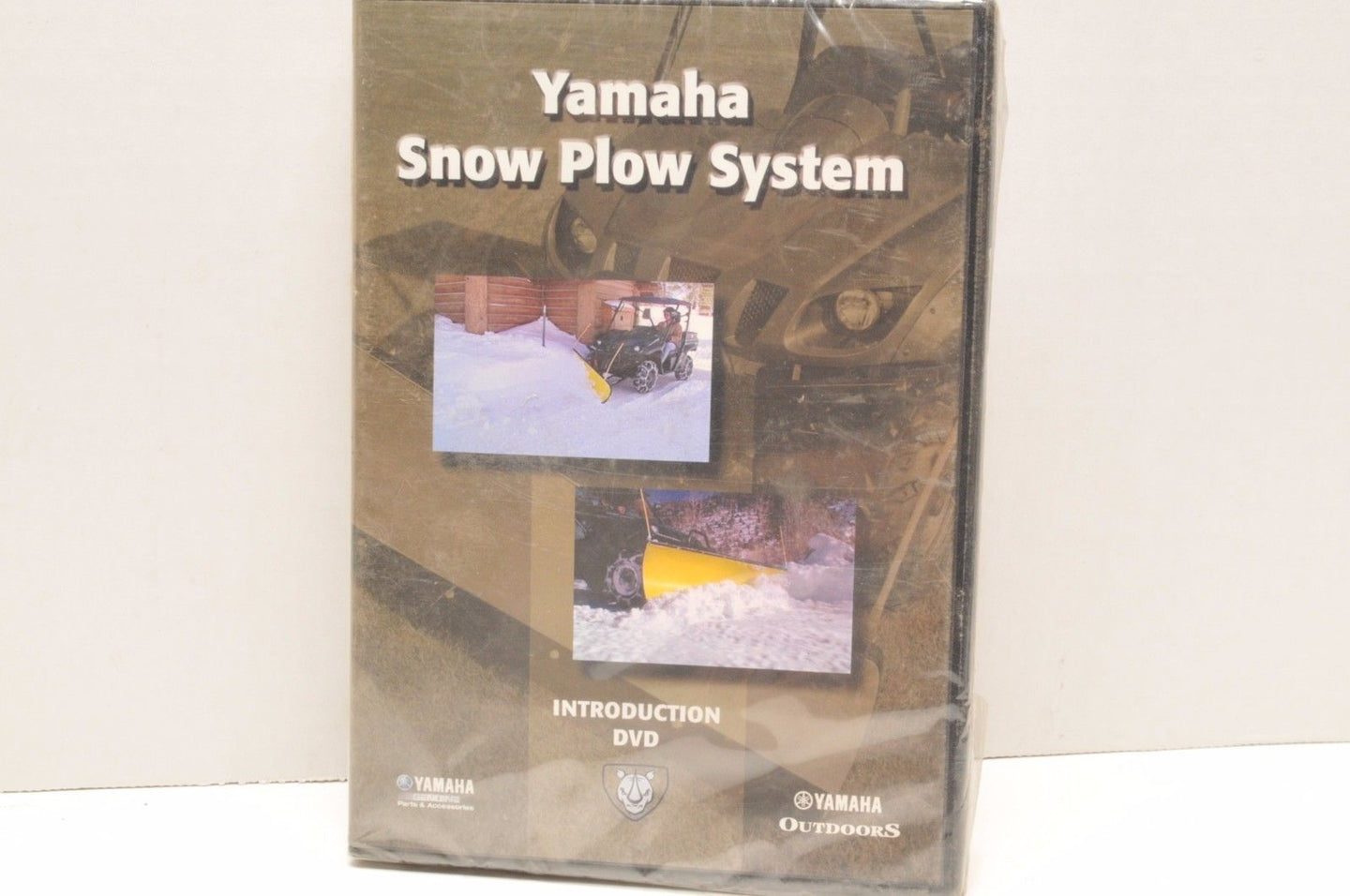 Genuine YAMAHA OUTDOORS SERVICE SNOW PLOW SYSTEMS INTRODUCTION DVD ATV SXS