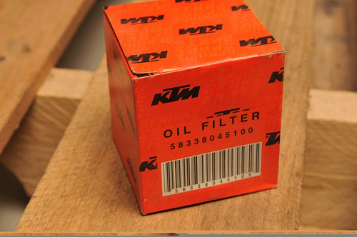 GENUINE KTM 58338045100 OIL FILTER - 640 LC4 E 620 625 400 DUKE ++