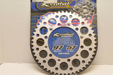 Load image into Gallery viewer, RENTHAL 51-13 SPROCKET KIT YAMAHA YZ400/426 1999-2000 FRONT AND REAR