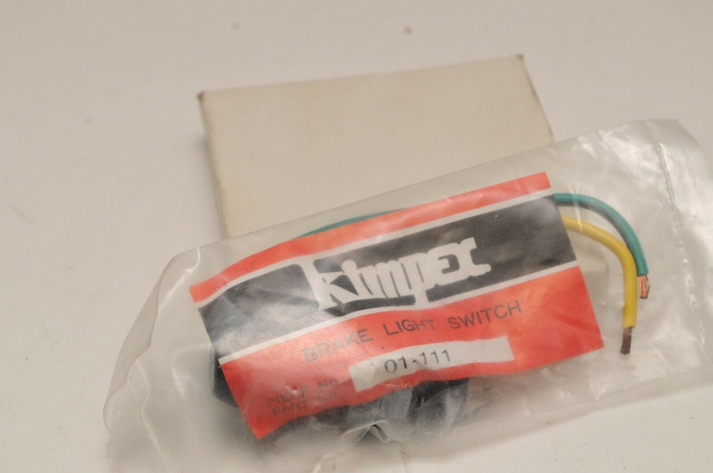 New NOS Kimpex  01-111 Brake Light Stoplight Switch - Normally Closed Snowmobile - Motomike Canada