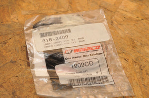 NEW NOS WISECO PISTON RING SET 316-2409 - 1909CD  48.50mm BORE KAWASAKI YAMAHA