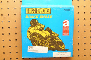 EMGO BRAKE SHOES 92-41057 03-0306 VB306 SUZUKI GT750 GS750 KING QUAD RUNNER REAR - Motomike Canada