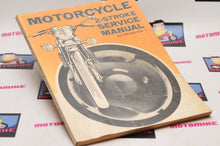 Load image into Gallery viewer, VINTAGE MOTORCYCLE 2-STROKE SERVICE MANUAL - 3rd EDITION VOL.1  1972