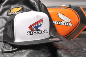 Honda Official Vintage Snap-Back Hat
