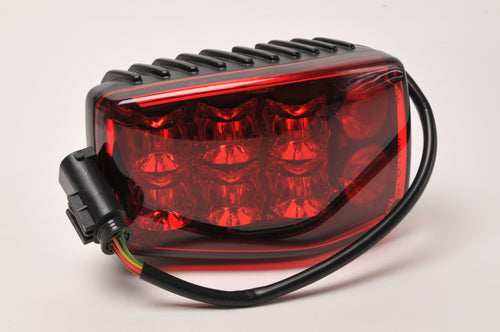 Genuine BMW Motorcycle LED Strobe Light Lamp RED - 63177701342 - Police Authority