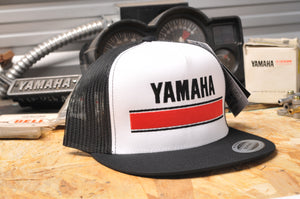 Yamaha Official Vintage Logo Snap-Back Hat