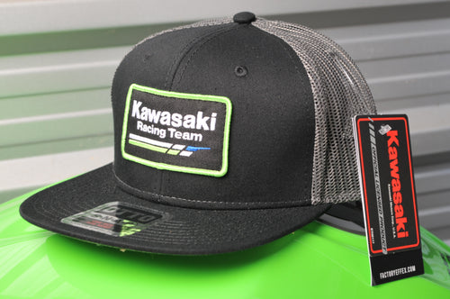 Kawasaki Racing Official Vintage Snap-Back Hat