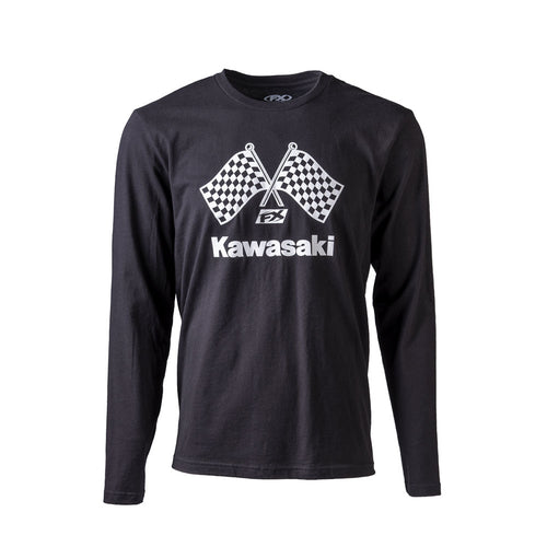 Kawasaki Official Finishline Long Sleeve T-Shirt