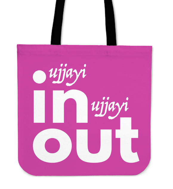 Ujjayi In Ujjayi Out Tote Bag