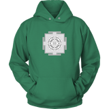 Mandala Hoodie Sweatshirt with Front Pocket