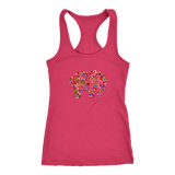Women's Elephant Mandala Next Level Racerback Tank