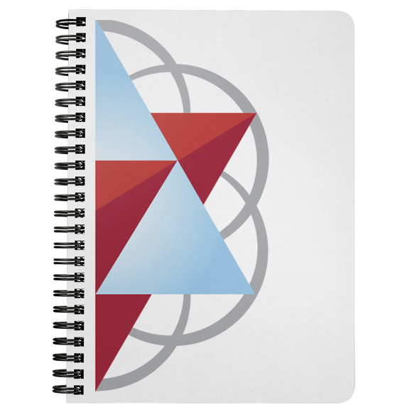 Sacred Geometry Spiral Bound Journal