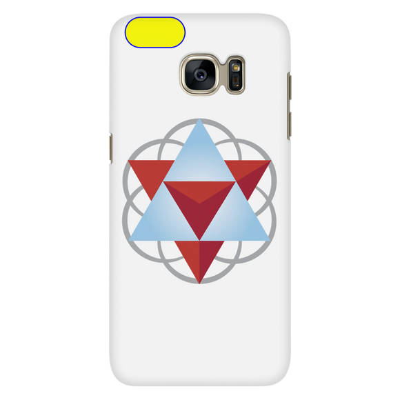 Sacred Geometry Phone Case for Galaxy S7