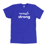 Mens Namaste Strong American Apparel T-Shirt