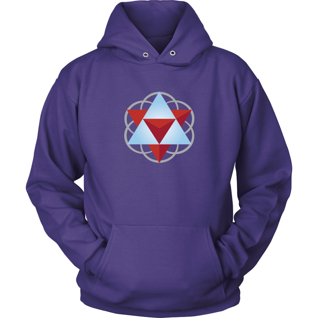 Sacred Geometry Hoodie Sweatshirt with Front Pocket – Prana