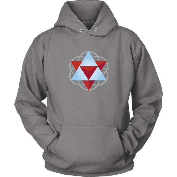 Sacred Geometry Hoodie Sweatshirt with Front Pocket