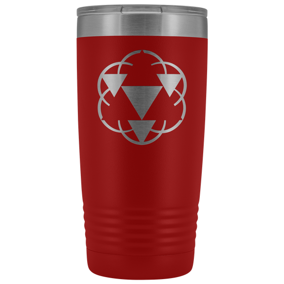 Sacred Geometry Coffee/Tea Vacuum Tumbler