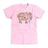 Mens Elephant Mandala American Apparel T-Shirt