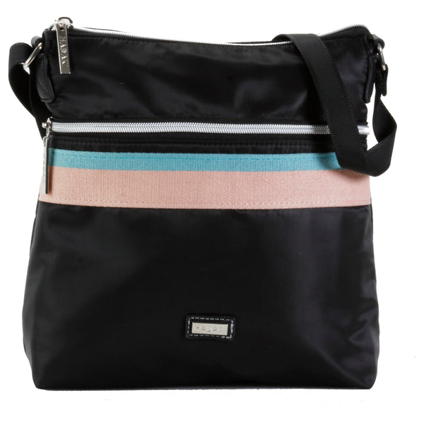 Hadaki Eco-friendly and Vegan Nylon Downtown Crossbody Every day Bag +FREE GIFT smartsuitcase-com.myshopify.com