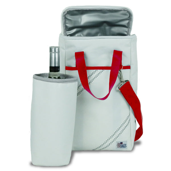 SailorBags Newport  Vegan Insulated Wine Tote