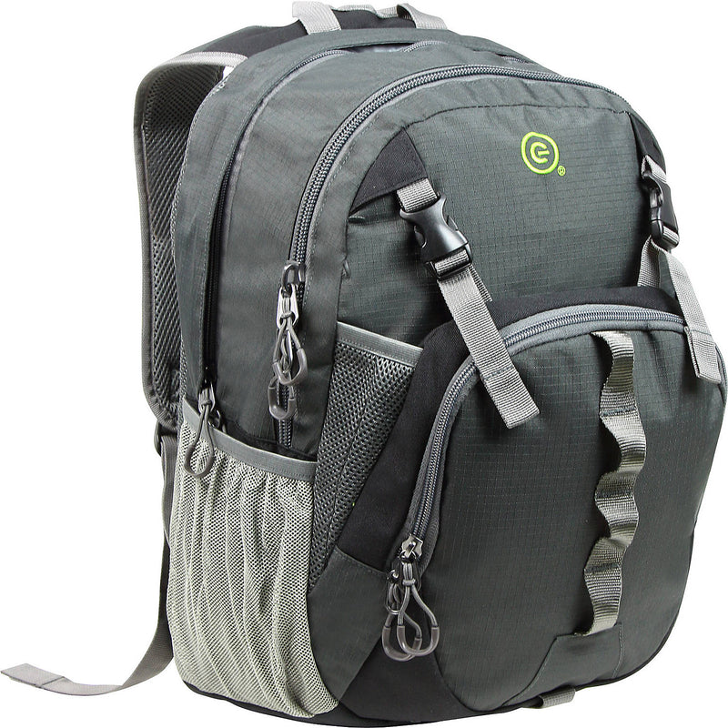 "Ecogear Flash 15"" Laptop Backpack+Free Bottle - Strong Suitcases-Vegan Luggage"