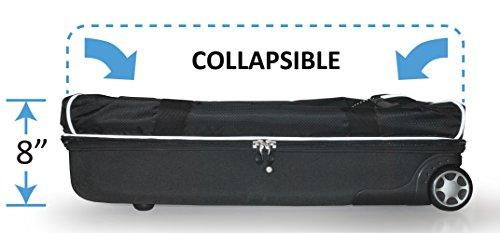 "Travolution 28"" Convertible Wheeled Duffel with Garment Rack Free Shipping - Strong Suitcases-Vegan Luggage"