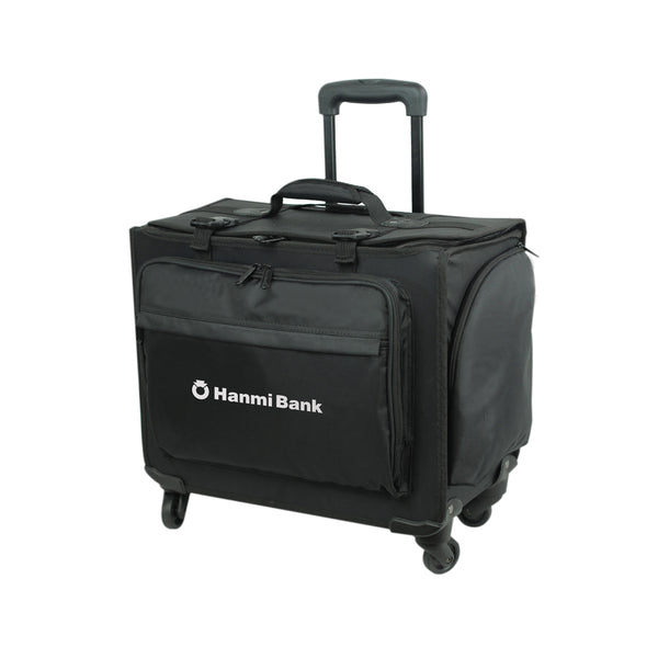 Goodhope Bags Rolling Hard Side Computer Catalog Case - Strong Suitcases-Vegan Luggage