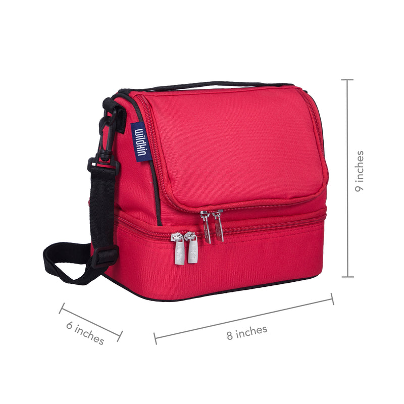 Wildkin Insulated Two Compartment Lunch Bag - Strong Suitcases-Vegan Luggage